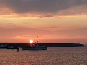 Dawn at Holyhead