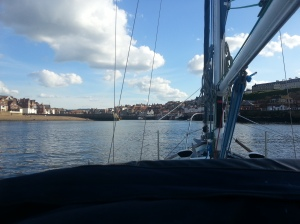 Entering Whitby